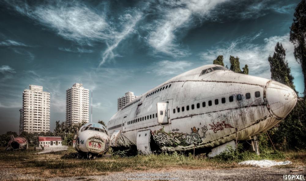 Plane's Graveyard in Bangkok
